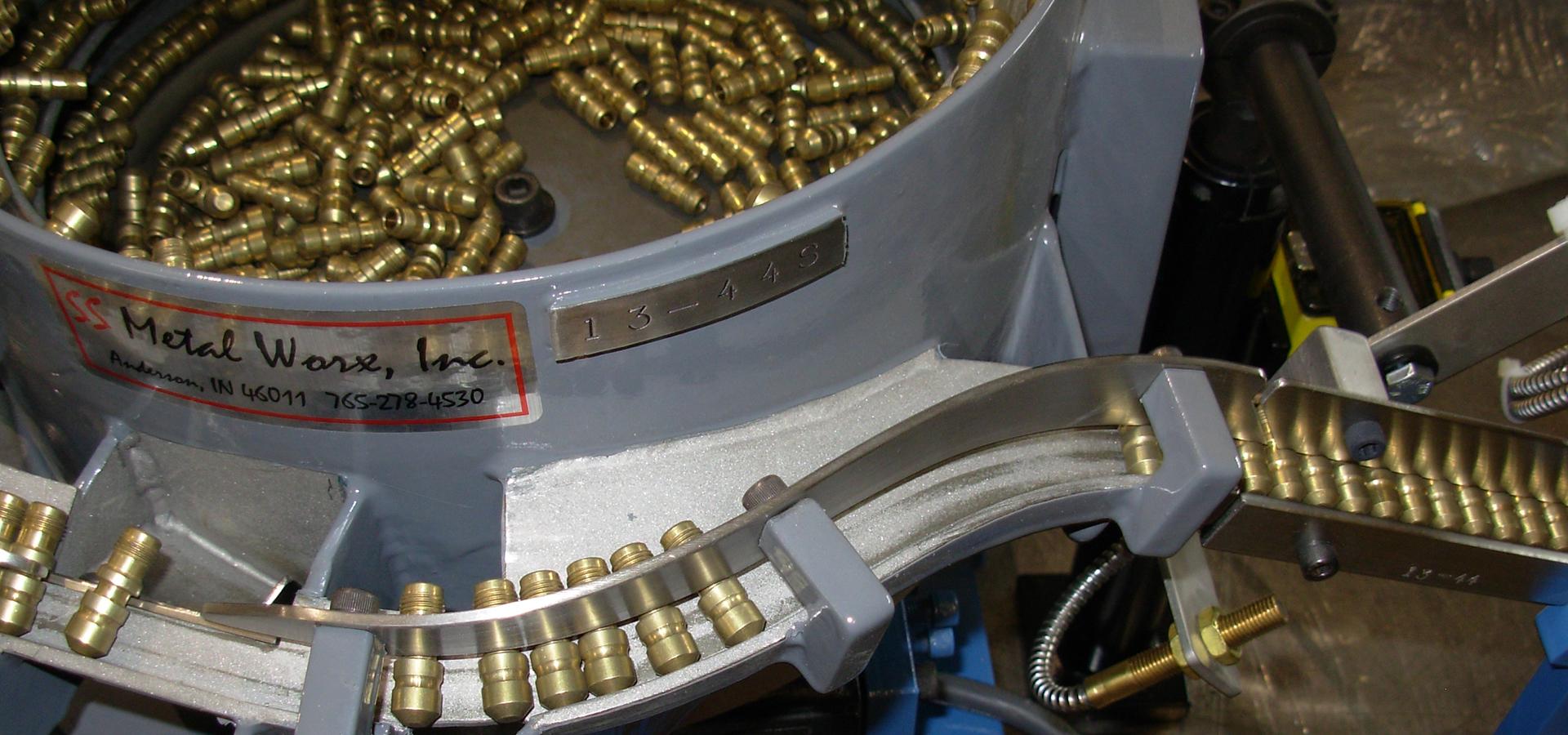 Metal Worx Inc >> Home Vibratory Feeder Bowls Ss Metal Worx